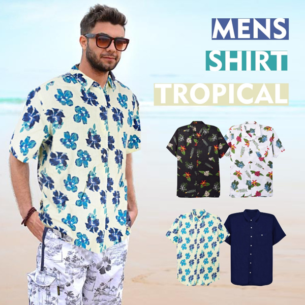 New Collection Men Tropical Shirts /Casual Shirt/Men Shirt/Branded Shirt Deals for only Rp75.000 instead of Rp75.000