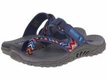 Skechers Womens Reggae-Zig Swag Flip-Flop Sandals