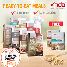 ✂ Bundle Meal of 7 Promo ✂ 💥 Free Drink x 1 💥  Healthy LOW Carb Meal set 🥣