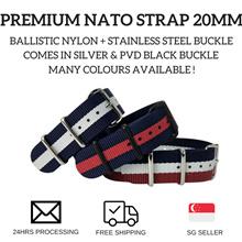 Premium Nato Strap 20mm - Batch I of II (Free Local Postage)