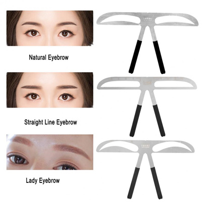 Eyebrow Templates | Qoo10 7 Types Eyebrow Stencils Eyebrows Grooming Stencil Shaping