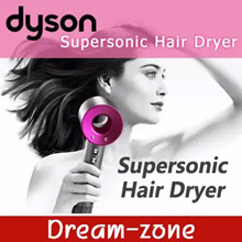 [Dyson] Supersonic Hair Dryer / 3 speed settings / 4 heat settings / 1600W / Hairstyles