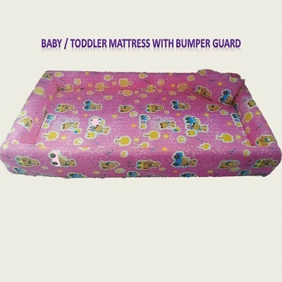 newest e57b3 3585c Baby / Toddler Mattress with Bumper Guard