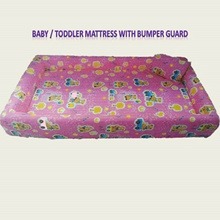Baby / Toddler Mattress with Bumper Guard