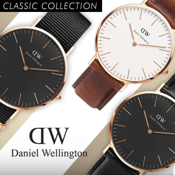 NEW!! DANIEL WELLINGTON BLACK SERIES Deals for only Rp2.200.000 instead of Rp2.200.000