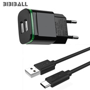 wholesale LED 2 port usb wall Charger Adapter + micro usb charger cable for samsung s4 a3 a5 j5 j7 2