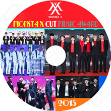 【K-POP DVD】 ☆ ★ MONSTA X CUT 2015 MUSIC AWARD ☆ Melon / MAMA / SBS / MBC / GDA / Seoul Awards ★ 【MONSTA X DVD】