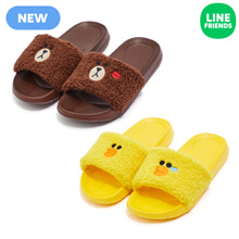 [LINE FRIENDS] CHARACTER SLIPPER BOUCLE SERIES