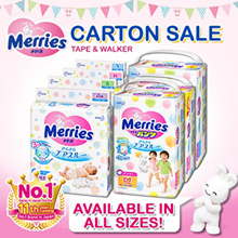 *Japan Domestic Sale Version* Merries Tape and Walker*CARTON SALE* All Size Available!!!
