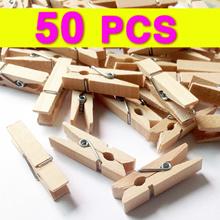 wooden peg 50pcs l mini peg l photo clip l craft clip l memo l postcard