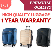 **CLEARANCE SALE** High Quality Luggage and Bags with Warranty