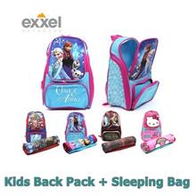 Disney Character EXXEL Kids Child Bag Pack + Sleeping Bag (Star warz)