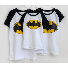 Couple / Family  Tee/ Mickey Mouse/Batman/Superman/Daddy Mommy Brother Sister Kaos keluarga 3in1 / 4in1