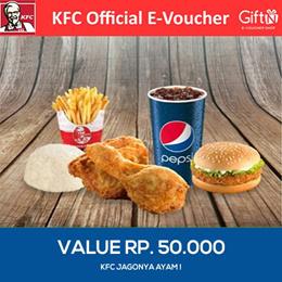 [FOOD] Promo KFC/ Tersedia seluruh cabang KFC di Indonesia/ Value Voucher 50K /KFC