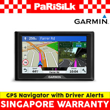 Garmin Drive 51 GPS Navigator with Driver Alerts - Singapore Warranty