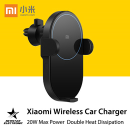 Xiaomi Wireless Car Charger 20W Max Power Inductive Electric Clamp Arm READY STOCK