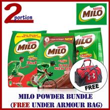 [FREE UNDER ARMOUR DUFFLE BAG] MILO ACTIV-GO Powder Bundle | Gao Siew Dai