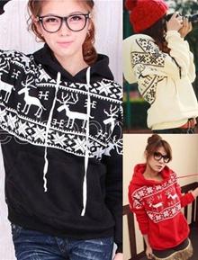 Womens Korean Long Sleeve Hoodies Sweaters Coat Tank Tops
