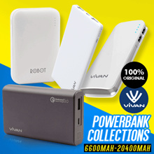 Vivan Powerbank Collection - 100% Original