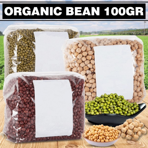 ORGANIC BEAN 100GR Deals for only Rp5.000 instead of Rp5.000