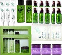 INNISFREE BEST/green tea Seed serum 100ml/bija cica balm 100ml /Orchid Enriched 60ml/Olive Real Powe