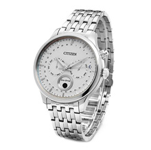 Citizen Mens Citizen Eco-Drive Moon Phase Analog  BNIB AP1050-56A