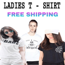 Tumblr Tee/Black White Short Sleeve Women Shirt/Round neck Slim Fit Ladies T-Shirt