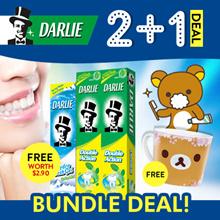 Darlie DoubleAction Toothpaste 2X250g + S.Pot