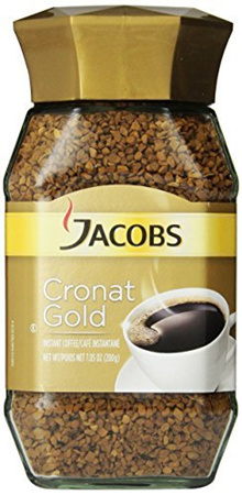 Jacob s Coffee Cronat Gold Instant Coffee, 7.05 Ounce