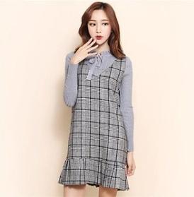 メイキンユ行き来するようにメイキンユ8091ボニアワンピース 塔/袖なしのワンピース/ 韓国ファッション