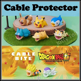 ◆ 2019 Cute Cartoon Cable Bite Protector ◆ Animal Cord Winder ◆ Charger Wire Holder Organizer