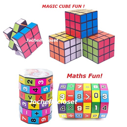 Maths Cube 6-layers math cube Children Education Learning Math Teaching Aids Puzzle Cube