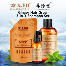 Zhang Guang Ginger Hair Grow 3 in 1 Shampoo Set