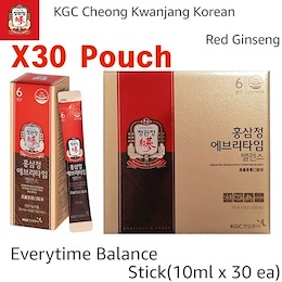 Cheong Kwan Jang Korea Red Ginseng Pure Natural Extract Everytime 10ml x 30 Pouches Organic