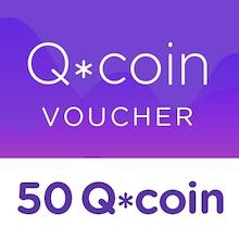 50 Q*coin Top Up Voucher