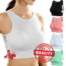 e85593838b BUY 3 IN 1 SHIPPING  Ready Stock  Breathable Sport Bra Shockproof Padded  Athletic Gym