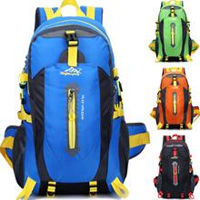 Outdoor mountaineering bags waterproof nylon shoulder bag men woman leisure backpack