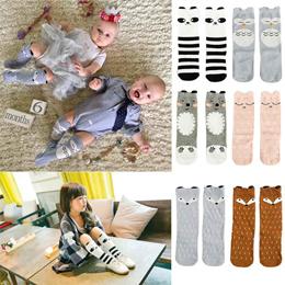 52097767491 COUPON  6 Pairs Unisex Baby Girls Socks Toddler Boy Animal Knee High Socks  for 0-6