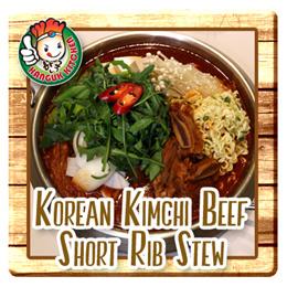 Korean Kimchi Beef Short Rib Stew 1.4KG (Good for 2-4 Pax)