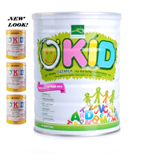 SG - AVA Check SAFE-Biogreen Okid Oatmilk 1 yr to 99 yrs old no cows milk no dairy - Fast Delivery !