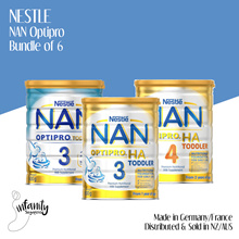 [Use Coupons]Nestle NAN Optipro/HA Formula Milk Stage 3 and 4 / Sold in Aus and NZ / Bundle Of 6