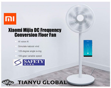 Ready Stock Mijia Floor Fan DC Frequency Conversion Electric plug without batteries
