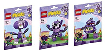 LEGO, Mixels Series 6 Bundle Set of Munchos, Snax (41551), Berp (41552) and Vaka-Vaka (41553)
