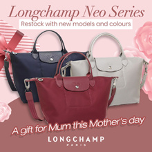[FREE LONGCHAMP Paper Bag and receipt] ! SG Local 100% Authentic Longchamp Neo Series 1512/1515