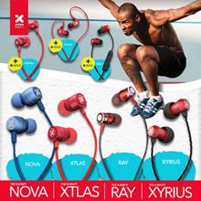 X-mini™ wired / wireless XOUNDPODS™ Series / NOVA / NOVA+ /XYRIUS / XTLAS / XTLAS+ / RAY / RAY+