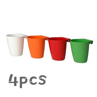 IKEA 4pcs/set/Mini Wall Basket/Kitchen storage basket/Bathroom Storage/  sc 1 st  Qoo10 & Qoo10 - IKEA 4pcs/set/Mini Wall Basket/Kitchen storage basket ...