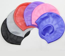 Hottinger ear waterproof swimming cap silica gel swimming cap formen and women