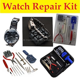 16pc Watch Repair Kit / Case Back Opener/ Repair Tool Kit/ Band Pin Strap Link Remover