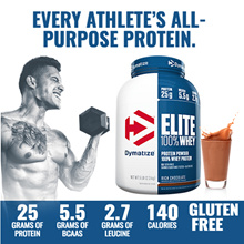 【The Perfect Premium Protein For Anytime Muscle Fuel】 [Dymatize Nutrition] Elite 100% Whey Protein