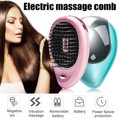 Nova 2 in 1 Besar Hair Straightener Catok Sisir Pelurus Pengeriting Rambut Listrik .